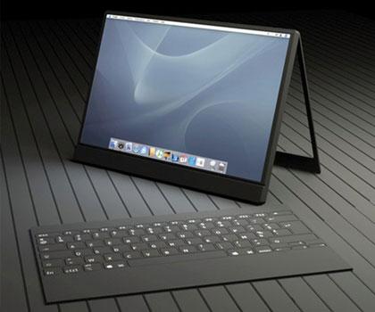 Mac tablet, teknologi komputer saat ini. bisa anda bayangkan bentuk
